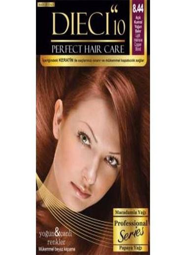Dıecı Dıecı 10 Perfect Kit Saç Boyası 8,44 Açık Kumral Yoğun Bakır Oranj